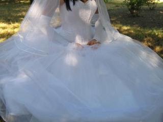 Продам свадебное платье. 400 р.