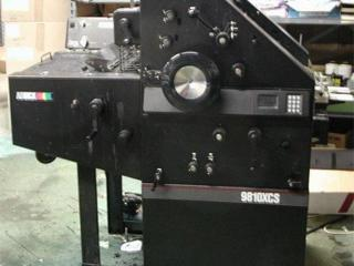 Печатная машина.