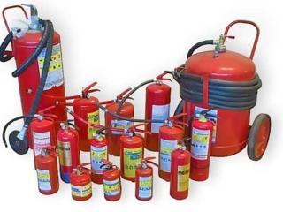 Огнетушители, пожарные шкафы, пожарные рукава