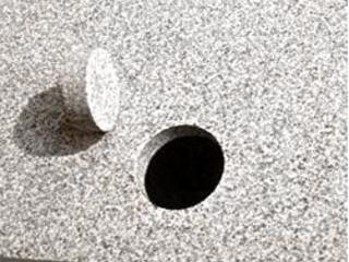 Gauri de orice diametru in marmura, granit, teracota.