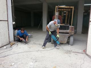 Бельцы. Бетоновырубка демонтаж снос зданий вывоз мусора хламa копаем