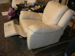 Кожаная мебель, два кресла кресла Релакс