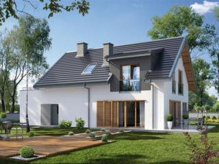 Casa cu arhitectura modernista 143 m2 la doar 38610 E