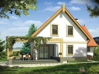 Уютный, современный, тёплый, прочный дом.