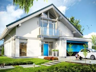 Casă eficientă termic cu design modern 224 mp.