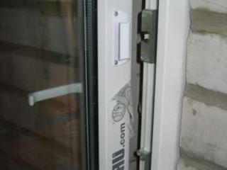 Балконная ручка (ракушка)алюминиевая и защелка, Кишинев