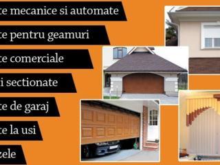 Porti de garaj sectionate, rolete si automatizari.
