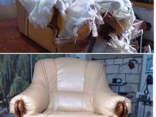 Ремонт и обивка диванов, кресел, стульев