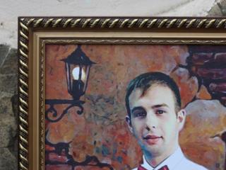 Прекрасный подарок! Портрет на холсте= 29 евро!