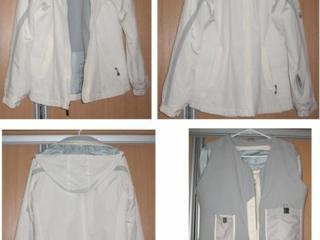 Спортивная куртка белого цвета, мужская