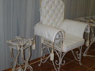 Столы, стулья и кресла кованные престиж и VIP класса