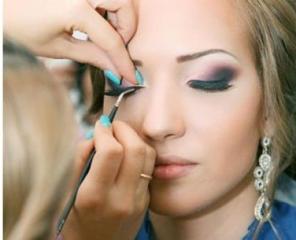 Curs de make-up profesional.