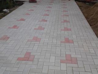 Укладка тротуарной плитки виброплитой. Гарантия качества