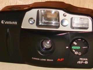 Плёночные фотоаппараты Canon Prima AF-8, Kodak KB28