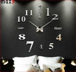 Зеркальные настенные часы