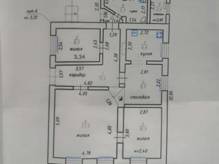 Продам дом в Кицканах рядом с центром, все коммуникации