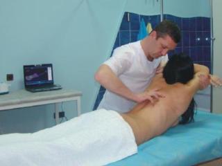 Квалифицированный лечебный массаж спины, общий, головы