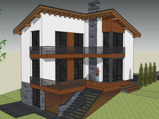 Casa stil modern 200 m2 varianta alba! Super oferta!