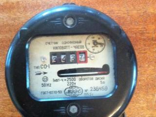 Продам счетчик электроэнергии однофазный.