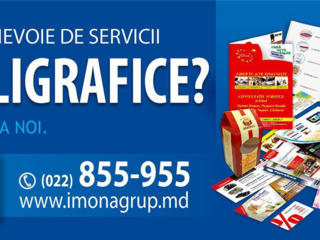 Servicii poligrafice de la compania Imona grup SRL