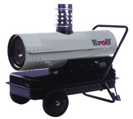 Аренда теплопушка Kroll MA-85 самая мощная, для больших помещений