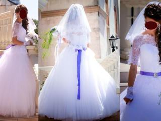 Продаётся свадебное платье.