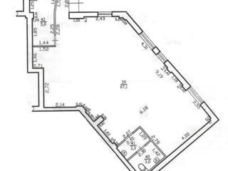 Centru. 1/8. Albisoara 82/8. 78 m2. Reparatie euro.