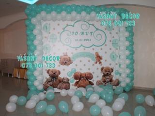 Foto stand, foto banner, decor cu baloane