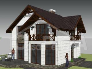 Casa particulara din cotеlet, proiect individual.