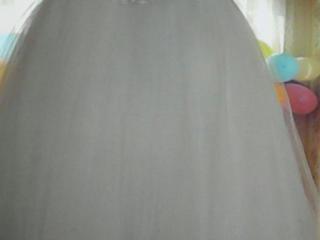 """Шикарное Свадебное белоснежное пышное платье """"Принцесса"""""""