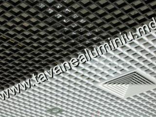Грильято, алюминиевые подвесные потолки