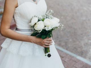 Авторское свадебное платье в идеальном состоянии