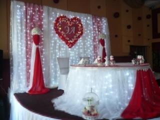 Полное оформление залов для торжеств: арки, чехлы
