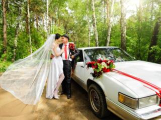 Автомобильные украшения для свадебного кортежа