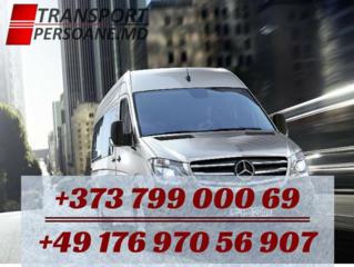 Transport de pasageri Germania-Moldova