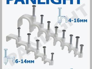 Скобы, крепления кабеля, PANLIGHT, скобы для кабеля, кабель,
