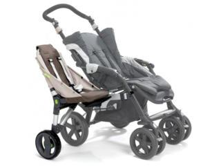 Buggypod Lite – универсальное дополнительное сиденье к детской коляске