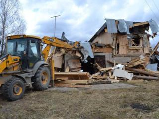 Бельцы Демонтаж разборка домов зданий строений сооружений вывоз мусора
