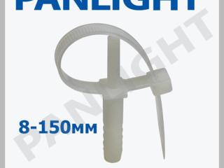 Хомуты дюбельные, кабельные стяжки, PANLIGHT, хомуты для кабеля