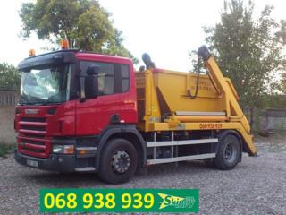 Evacuarea gunoiului deseurilor din constructii si servicii de excavare