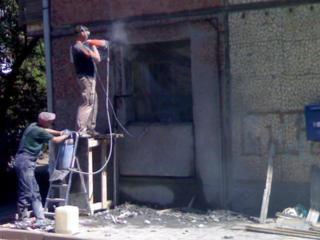 Бельцы Бетоновырубка Резка бетона Сверление Перепланировка снос домов