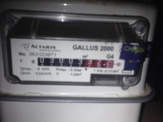 """Продается газовый счетчик """"Actaris"""". На запчасти."""