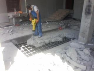 Бельцы. Бетоновырубка демонтаж домов вывоз мусора подготовка к ремонту