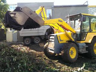 Бельцы. Вывоз мусора доставка чернозема. Копка траншей бетоновырубка
