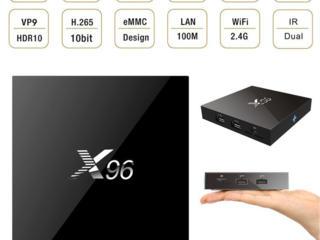 Smart Tv-Amlogic S905X, 2/16GB, Full HD 1080P, WiFi.