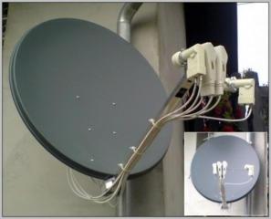Cпутниковые aнтенны= ремонт, установка, прошивка. Antene parabolice