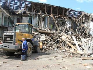 Бельцы. Снос демонтаж домов строений бетоновырубка резка железобетона