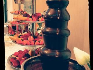 Шоколадные фонтаны. Световые и спец эффекты, конфетти, снег.