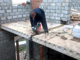 Бельцы. Демонтаж железобетона бетоновырубка резка бетона вывоз мусора.