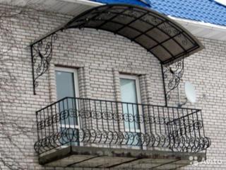 Бельцы. Полная замена перил поручни ограждение балкона Обшивка Отделка